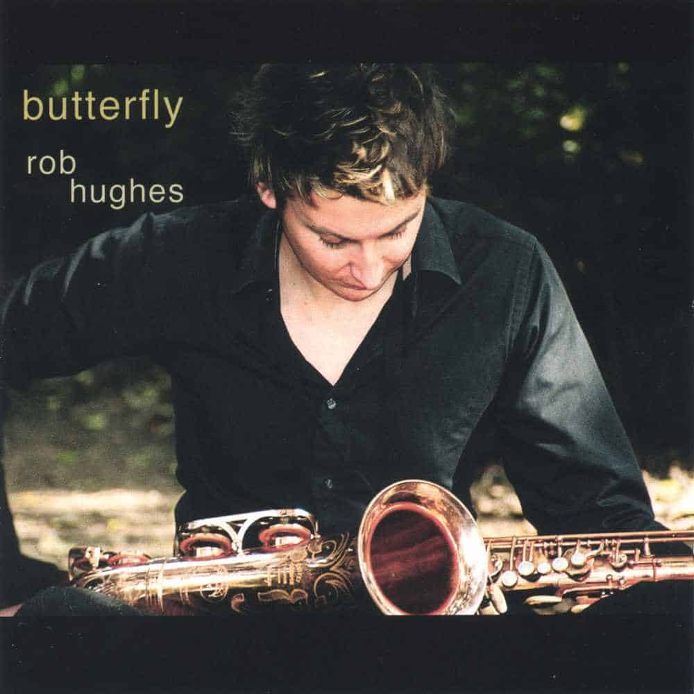 Rob Hughes Butterfly album cover